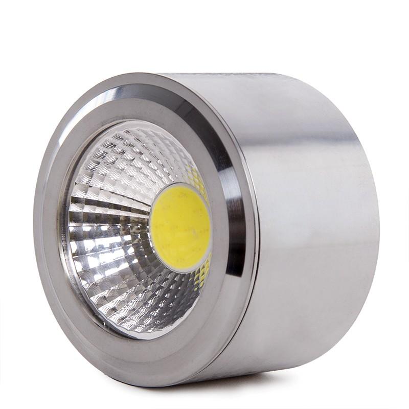 8 x Click LED5400SC5CD /'Inceptor Nano/' Dimmable LED Downlight 4000K Satin Chrome