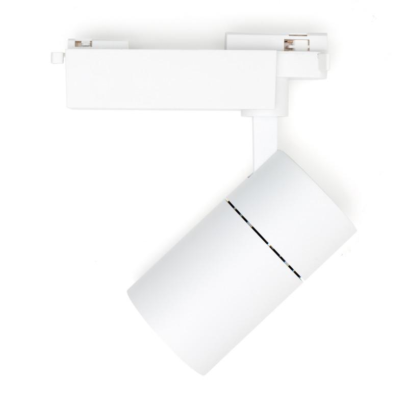 Foco Carril LED Monofásico 22W 36º 1980Lm 30,000H Blanco [HO-FC-22W-W-CW]