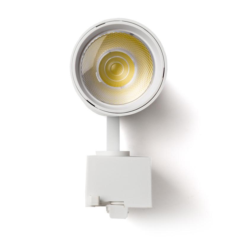 Foco Carril LED Monofásico 22W 36º 1980Lm 30,000H Blanco [HO-FC-22W-W-CW] (2)