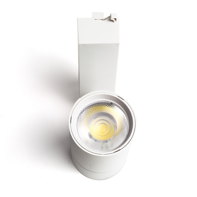 Foco Carril LED Monofásico 22W 36º 1980Lm 30,000H Blanco [HO-FC-22W-W-CW] (1)