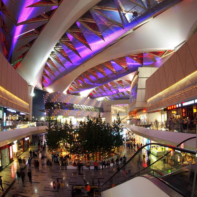 Iluminación LED en tiendas